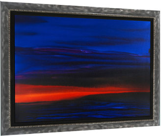 Sunset Sea 5 WAA-051105-E (Framed)