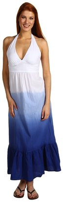 Tommy Bahama Dip-Dyed Smocked Back Dress (Galaxy Blue) - Apparel