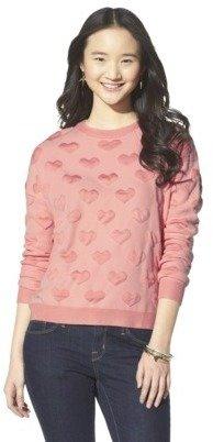 Xhilaration Junior's Textured Sweater - Assorted Colors