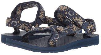 Teva Original Universal (Sun and Moon Insignia Blue) Women's Sandals