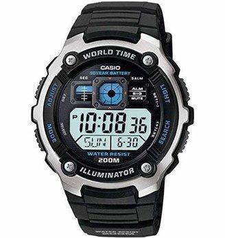 Casio AE-2000W-1AVCF Men's AE2000W-1AV Silver-Tone and Multi-Functional Digital Sport Watch