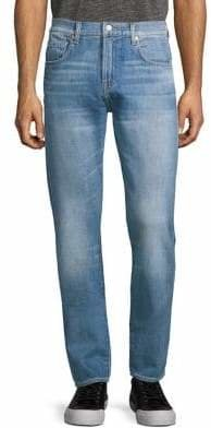 7 For All Mankind Slim Tapered Adrien Jeans in Savant