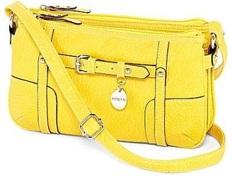 JCPenney Rosetti® Sophia Triple-Zip Crossbody Bag
