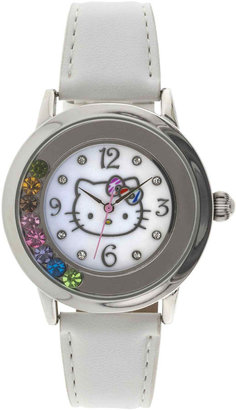 Hello Kitty Womens Crystal-Accent Watch $34 thestylecure.com