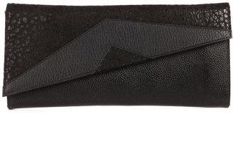 Bracher Emden Black Leather Clutch