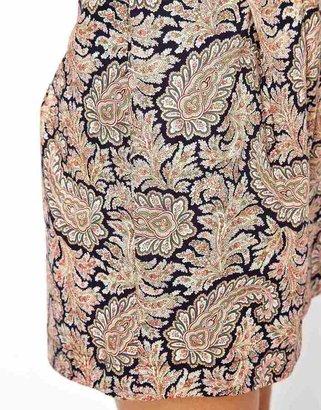 Asos Reclaimed Vintage Paisley Shorts