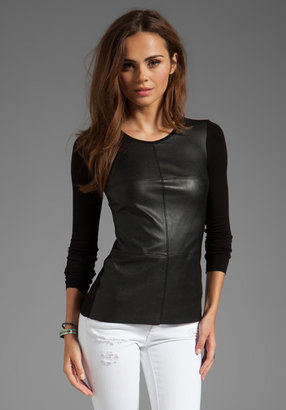 Bailey 44 Allteration Leather Front Top