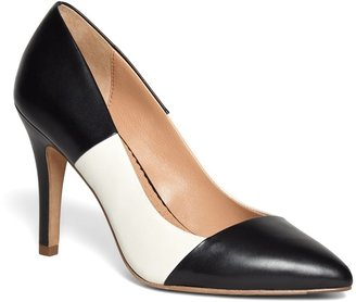 Brooks Brothers Two-Tone Leather Pumps