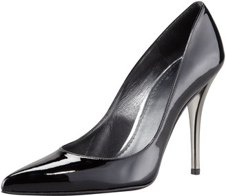 Stuart Weitzman Naughty Pointed-Toe Pump