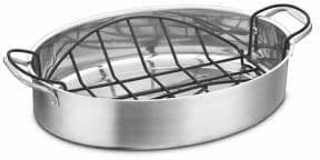 Cuisinart Stainless Steel Nonstick Rack Roasting Pan Set