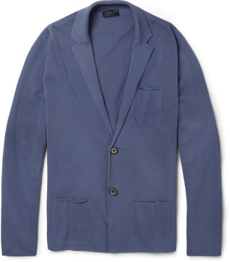 Lanvin Knitted Cotton Cardigan