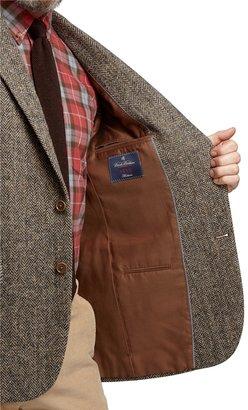 Brooks Brothers Madison Fit Harris Tweed Herringbone Sport Coat