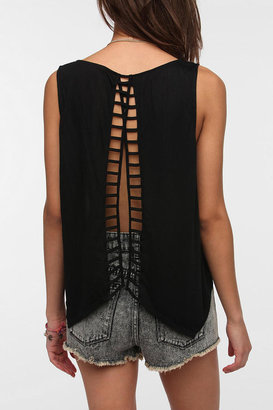 Urban Outfitters Lucca Couture Ladder Back Tank Top