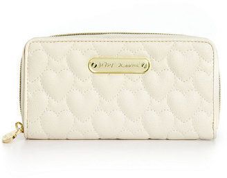Betsey Johnson Handbag, Quilted Hearts Wallet