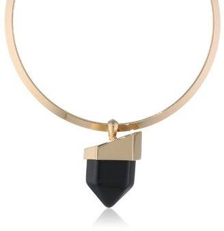 """Vince Camuto Tour of Duty Fashion Collar Necklace, 16"""""""