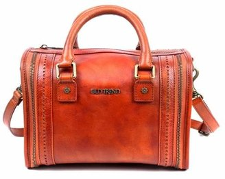 Old Trend Mini Trunk Leather Crossbody Bag