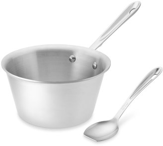 All-Clad d5 Stainless-Steel Reduction Pan with Measuring Tool