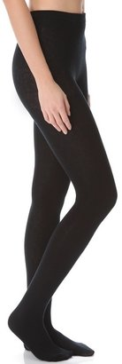 Plush Knit Fleece Lined Footed Tights