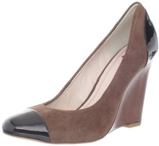 Plenty by Tracy Reese Women's Reece Wedge Pump, Gazelle, 37 M EU/7 M US