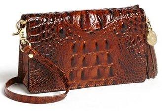 Brahmin 'Melbourne - Amelia' Croc Embossed Leather Crossbody Clutch