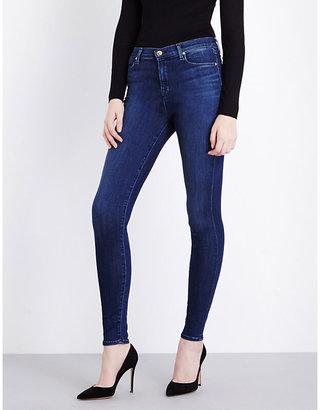 J Brand Ladies Blue Vintage Skinny High-Rise Jeans, Size: 23