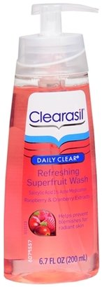 Clearasil Daily Clear Refreshing Superfruit Gel Wash