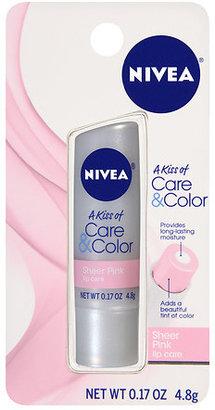 Nivea Lip Care A Kiss of Care & Color Sheer Pink