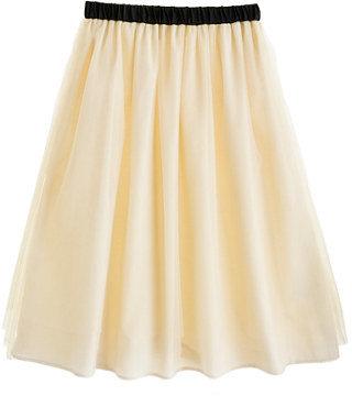 J.Crew Girls' tippy-toe tulle long skirt