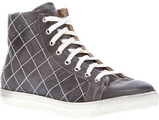 Bohemien lace up trainer