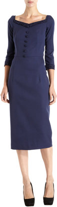 L'Wren Scott Button Front Dress