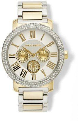 Vince Camuto Multifuction Dial Watch