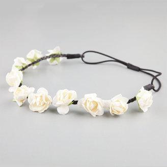 Full Tilt Rose Stationed Headband