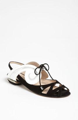 Nicholas Kirkwood 'Swirl' Flat Sandal