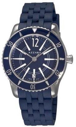 Azzaro Men's AZ2200.12EE.01E Coastline Blue Dial and Rubber Strap Watch