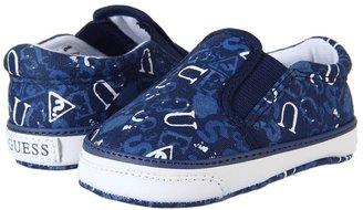 GUESS Kids' - Playpen (Infant) (Navy Canvas/Light Blue) - Footwear