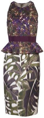 Giambattista Valli Sleeveless print dress