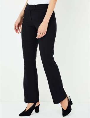 George Black Formal Bootcut Trousers