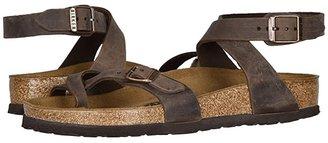 Birkenstock Yara (Habana Oiled Leather) Women's Sandals