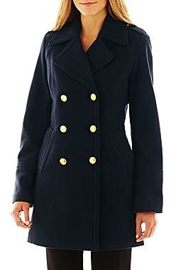 JCPenney Worthington Officer Coat - Talls