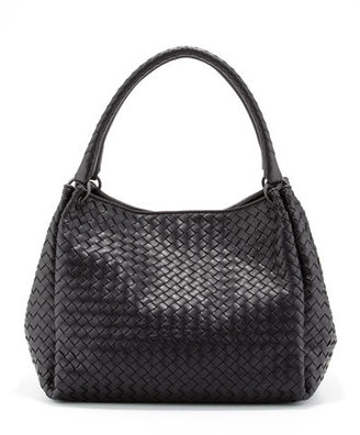 Bottega Veneta Parachute Intrecciato Tote Bag, Black $2,750 thestylecure.com