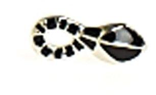Belle Noel by Kim Kardashian Snake Stud Earrings