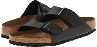 Birkenstock Arizona Soft Footbed (Black Birko-Flortm) Sandals