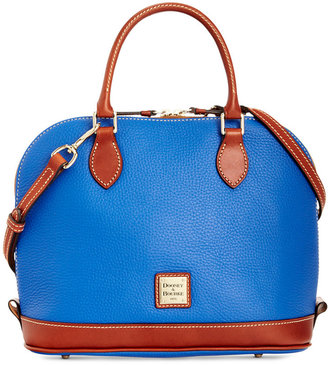 Dooney & Bourke Pebble Zip Zip Satchel $198 thestylecure.com