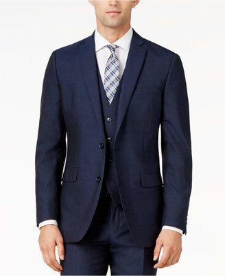 Bar III Midnight Blue Slim-Fit Jacket $425 thestylecure.com
