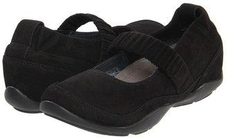 Dansko Chrissy (Black Kid Suede) - Footwear