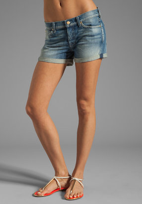 7 For All Mankind Josefina Roll Up Short