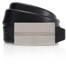 Hugo Boss Baxter Leather Belt 38 Black