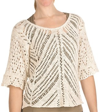Nomadic Traders Textured Breezy Sweater (For Women)