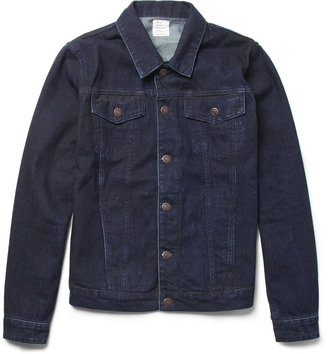 Jean.Machine J.M-4 Slim-Fit Overdyed-Denim Jacket