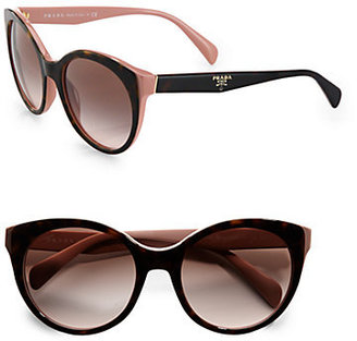 Prada Oversized Cat's-Eye Sunglasses